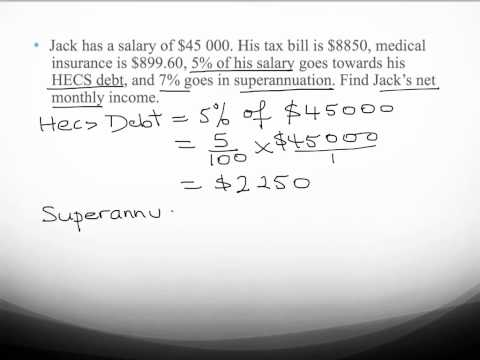 Calculating net pay