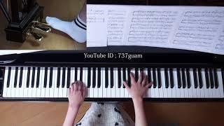 使用楽譜:ぷりんと楽譜・上級、 採譜者:内田美雪、 2018年1月28日 録画.