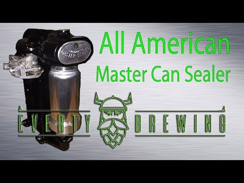 All American Master Can Sealer- Canning Homebrew