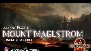 ★ Guild Wars 2 ★ - Jumping Puzzle - Mount Maelstrom (Conundrum Cubed)