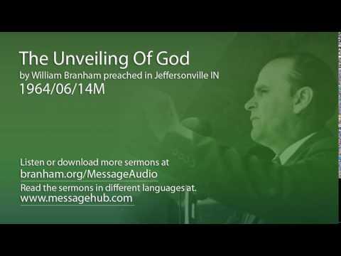 The Unveiling Of God (William Branham 64/06/14M)