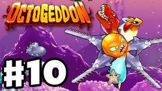 Octogeddon - Gameplay Walkthrough Part 10 - 4 Sawsharks! (PC)