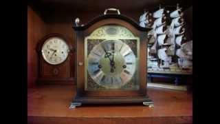 Bulova Tempus Fugit Bracket Westminster Chime Mantel Clock