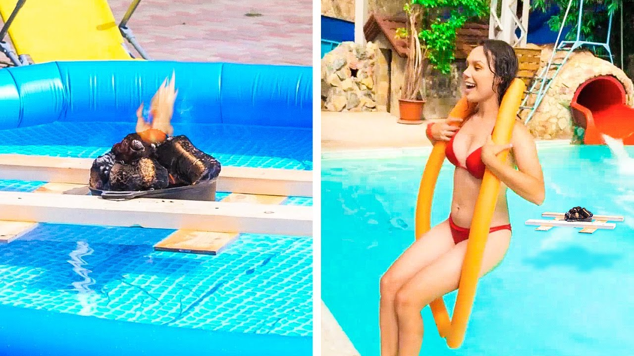 Pool Party Ideas and Summer Hacks