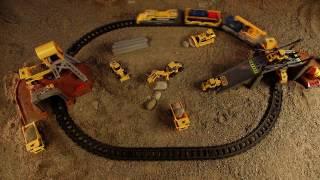 Cat Iron Dıesel Küçük Tren Set-55450