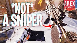 I Told You This Gun Was NOT a Sniper! - PS4 Apex Legends