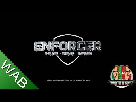 Enforcer: Police Crime Action Gameplay Walkthrough Playthrough Part 1 - Vandalism (PC)
