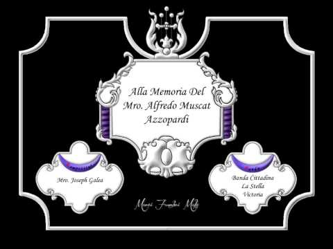 Alla Memoria Del Mro. Alfredo Muscat Azzopardi - Joseph Galea