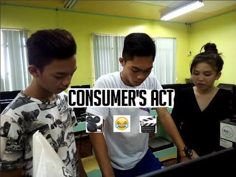 Consumer's Act of the Philippines 20 mins