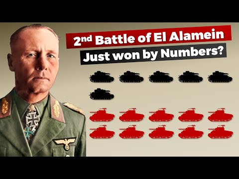 Just won by Numbers? 2nd Battle of El Alamein