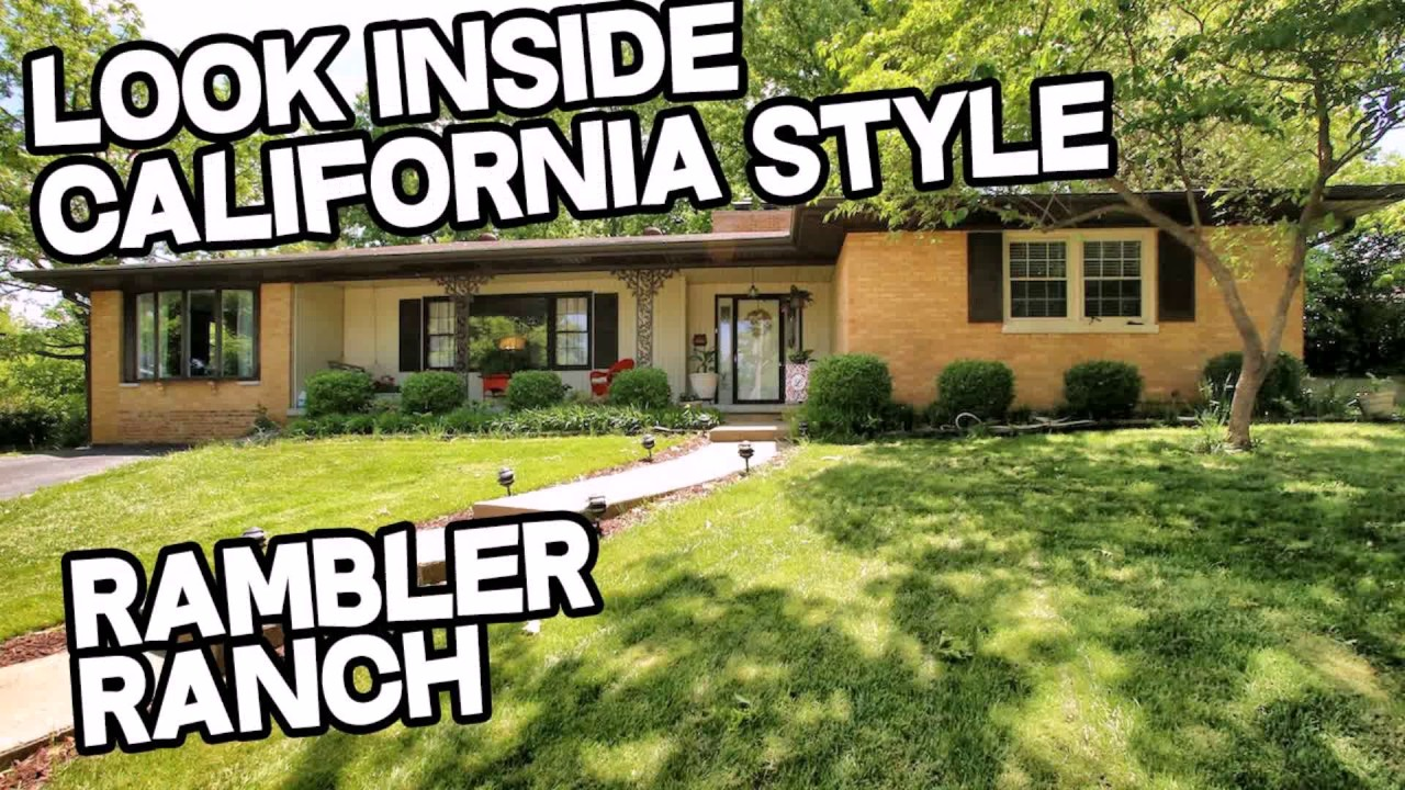 House style ranch rambler youtube for Casa rambler vs casa ranch