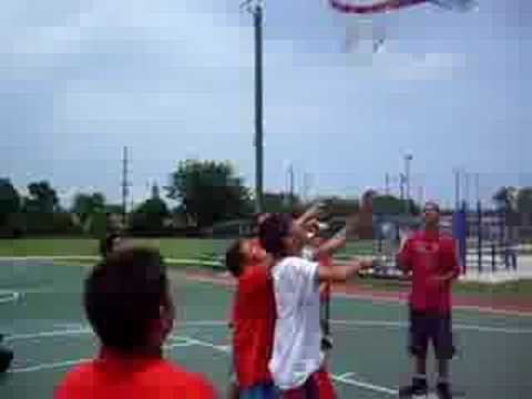 Kinloch Park trying 2 play basketball - YouTube