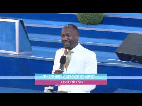 FOUR TYPES OF SIN || APOSTLE JOHNSON SULEMAN