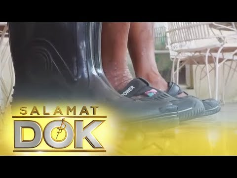 Salamay Dok: Athlete's foot