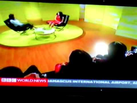 """Anggun - """"Mishal Husain Meets Anggun"""" on BBC WORLD NEWS TALK 2012"""