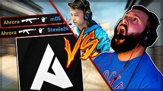 Ahrora vs mOE ft. Stewie2k