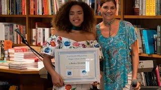 Premio a la Excelencia a Paola Guanche - Foro