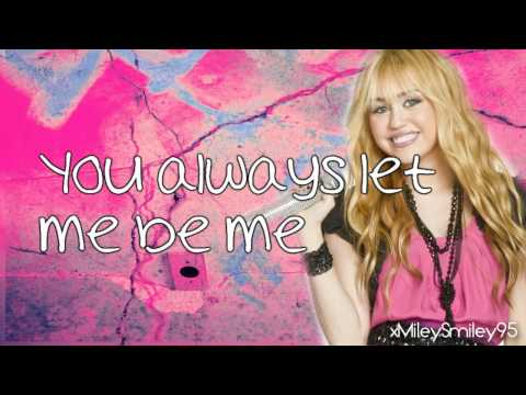 Hannah Montana ft. Billy Ray Cyrus - Love That Let's Go (with lyrics)