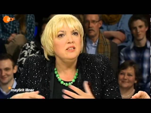 Schote, Zote, Herrenwitz - ZDF. Maybritt Illner vom 31.01.2013