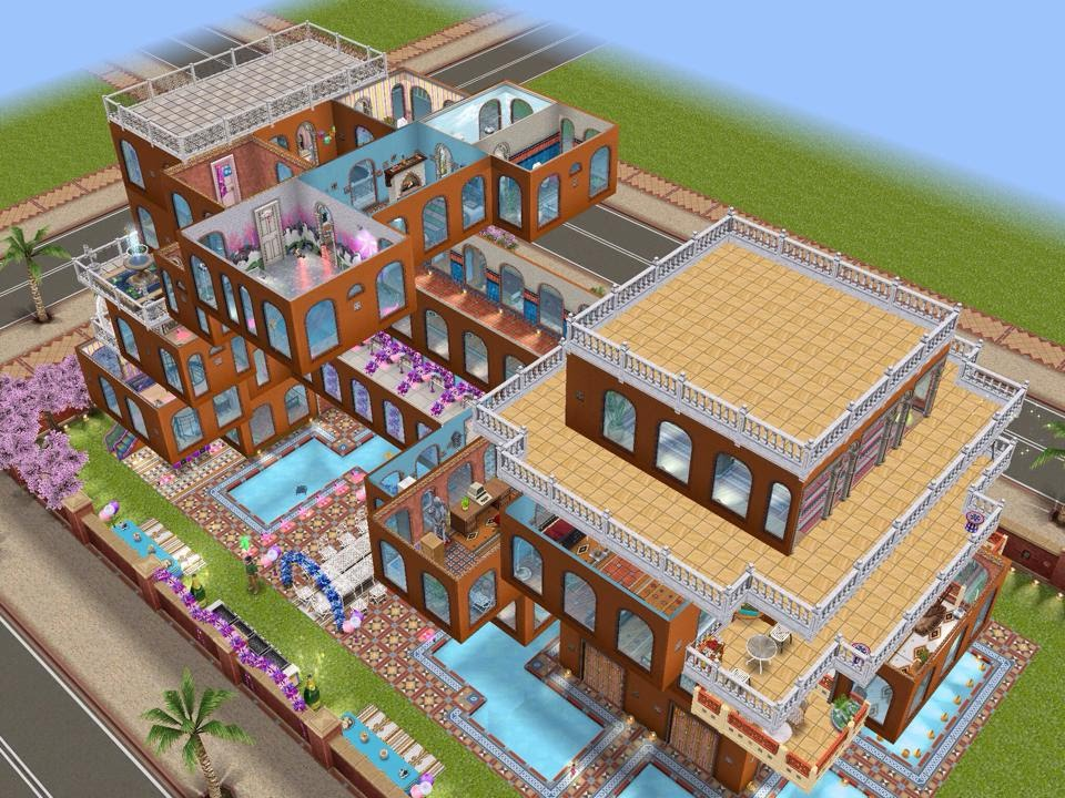The Sims Freeplay Part Ii Dream House Balconies Youtube