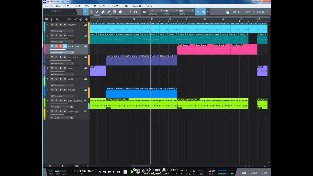 studio one 作曲