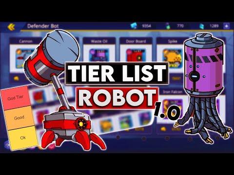 TIER LIST ROBOT