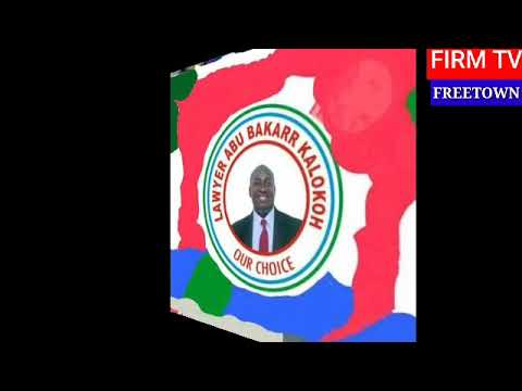 A P C  LAWYER ABU BAKARR KALOKOH PRESS STATEMENT ON SIERRA LEONE COI