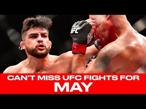 UFC Schedule: Top 10 Must-Watch Fights For May 2018
