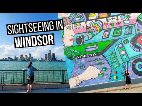 Windsor, Ontario, Canada Sightseeing   Things To See In Windsor, Ontario   Windsor Vlog Part 2
