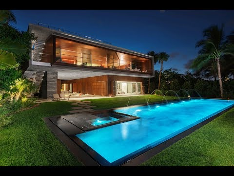 Ultra Modern Architectural Masterpiece in Miami Beach -- Lifestyle Production Group