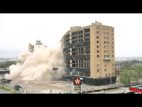12-Story Westchester Plaza Building In Fort Worth Imploded