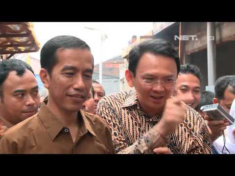 NET24 - Jokowi Dan Ahok Pertama Kalinya Blusukan Bersama
