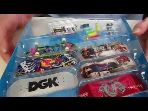 Newest Tech Deck DGK Sk8 Shop Bonus Pack Unboxing