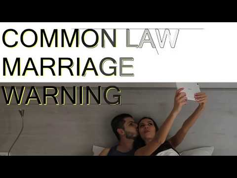 Warning On Common Law Marriage 2019 Texas