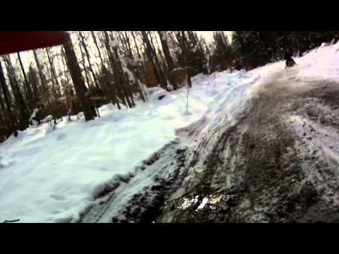williamstown to oneida lake sled ride 01 11 2011