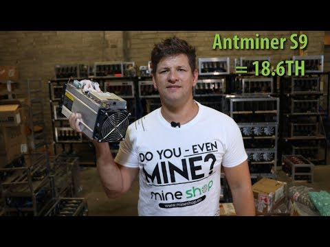 Antminer S9 18.6TH With Custom Firmware From Dollemizer !!??