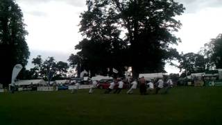 Scottish Game Fair, Scone - Tug Of War - Lawyers V Bankers
