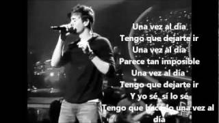 Download One day at a time-Enrique iglesias Traducida (aleeHARIBO) MP3 song and Music Video