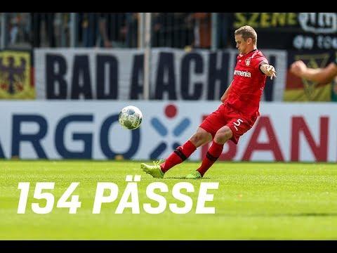 VIDEO | Sven Bender stellt Passrekord im DFB-Pokal auf