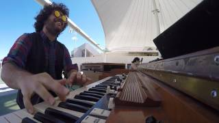 Carey Frank's hammond organ solo over Fire Eater