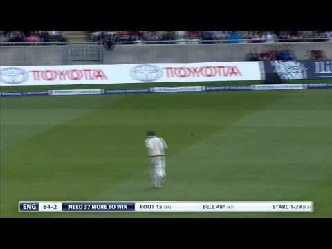 Ashes highlights - England win Edgbaston Test by eight wickets