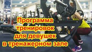 Программа тренировок для девушек в тренажерном зале Ольга 29 лет Одесса