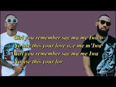 Phyno Ft Tekno - Iwa (Official Video Lyrics) | HD