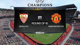 Manchester United VS. Sevilla FC | Highlights | UEFA Champions league | FIFA