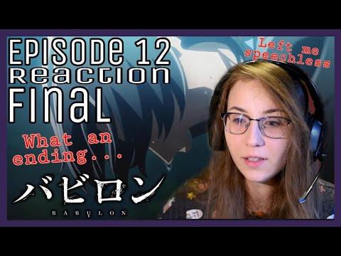 Babylon - Episode 12 Reaction