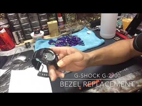 Download How to change bezel on Casio G Shock G-2900