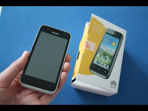 HUAWEI Ascend G330 - Unboxing deutsch