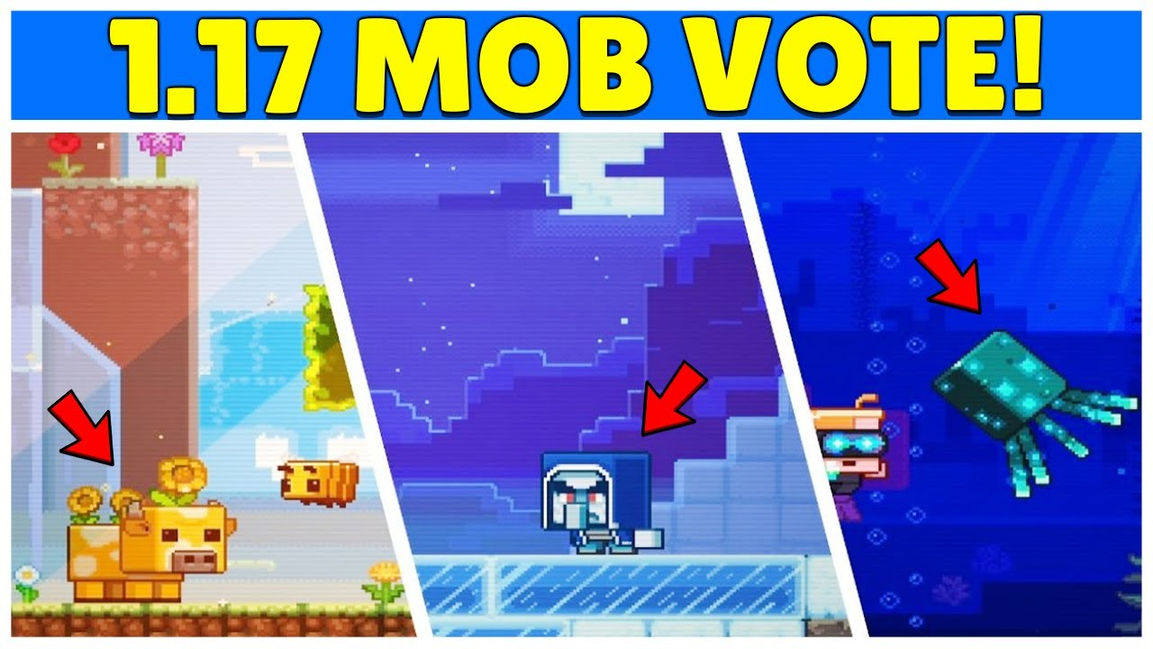 Minecraft LIVE Mob Vote Revealed 8.87 Update Mobs (Minecon 8)