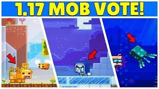 Minecraft LIVE Mob Vote Revealed... 1.17 Update Mobs (Minecon 2020)