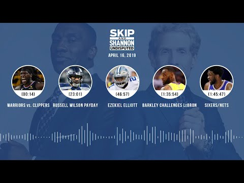 UNDISPUTED Audio Podcast (04.16.19) with Skip Bayless, Shannon Sharpe & Jenny Taft | UNDISPUTED